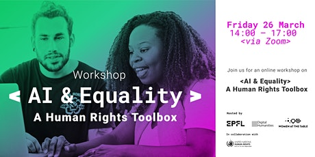 AI & Equality: A Human Rights Toolbox tickets