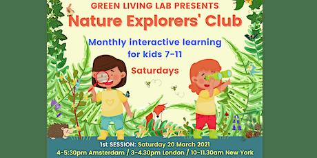 Nature Explorers' Club for Kids, 7-11 years // 3 Membership Options tickets