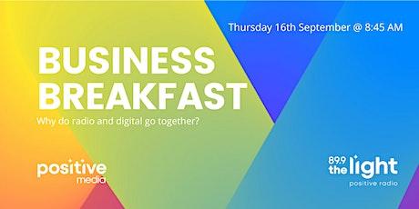 VIRTUAL EVENT: PositiveMedia Business Breakfast tickets