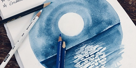 Wellbeing Art Sessions - Reflections of the Moon in Watercolour tickets