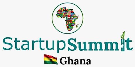 Startup Summit; Ghana 2021 tickets