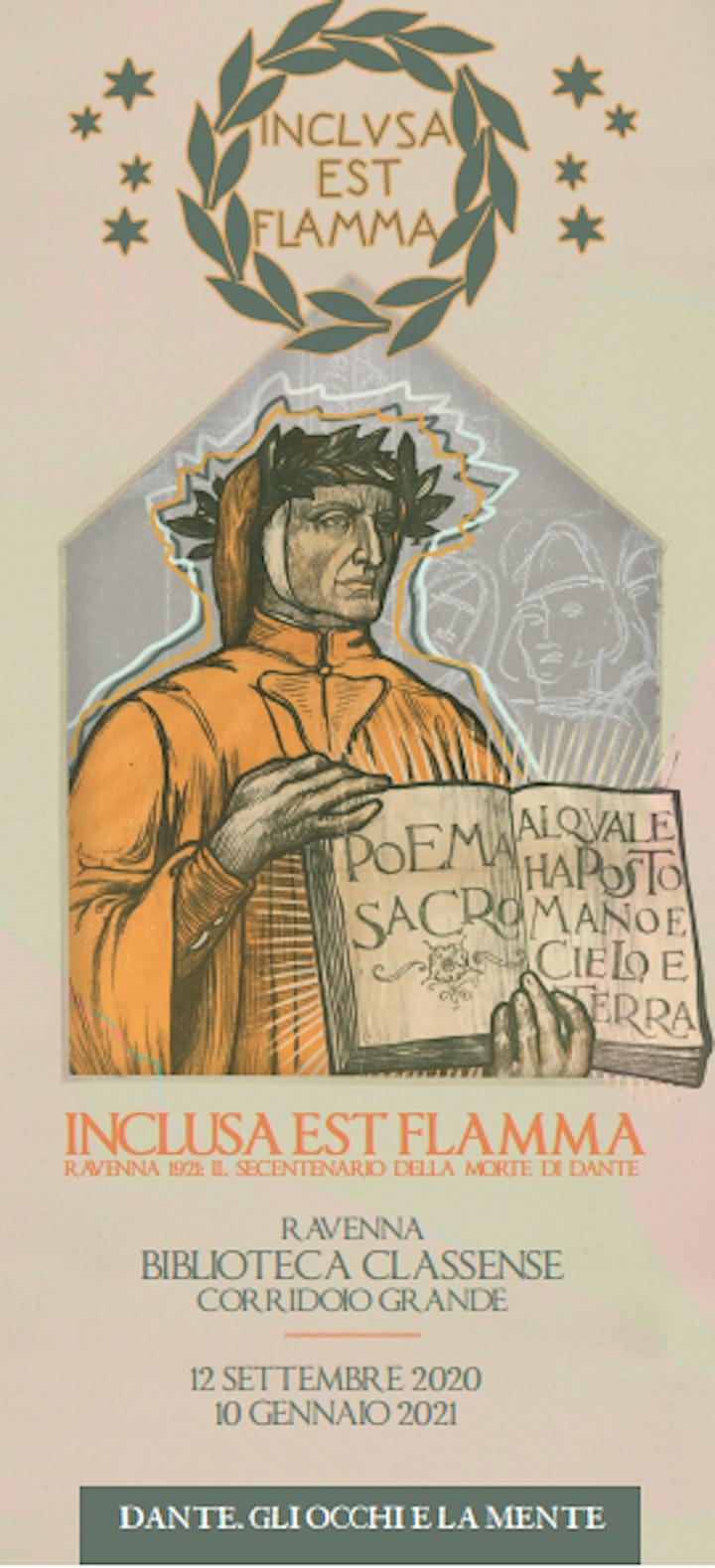 """Immagine Visita guidata alla mostra """"Inclusa est flamma"""""""
