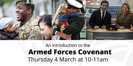 The Armed Forces Covenant: Introduction for Employers tickets