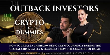 Crypto for Dummies - How to Create Your Crypto Cashflow tickets