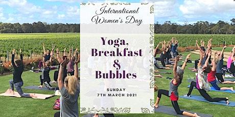 Yoga, Breakfast & Bubbles  for International Women's Day 2021 tickets