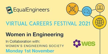 Women in Engineering -  Virtual Careers Festival 2021 tickets