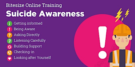 Suicide Awareness, Bitesize Training tickets
