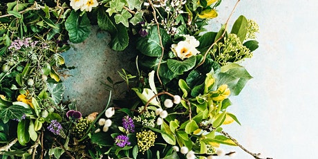 Living Spring Wreath Online Wreath Workshop tickets