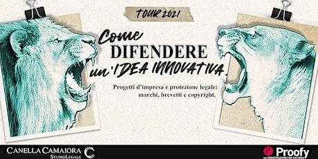 Come difendere un'idea innovativa® Tour 2021 – Torino biglietti