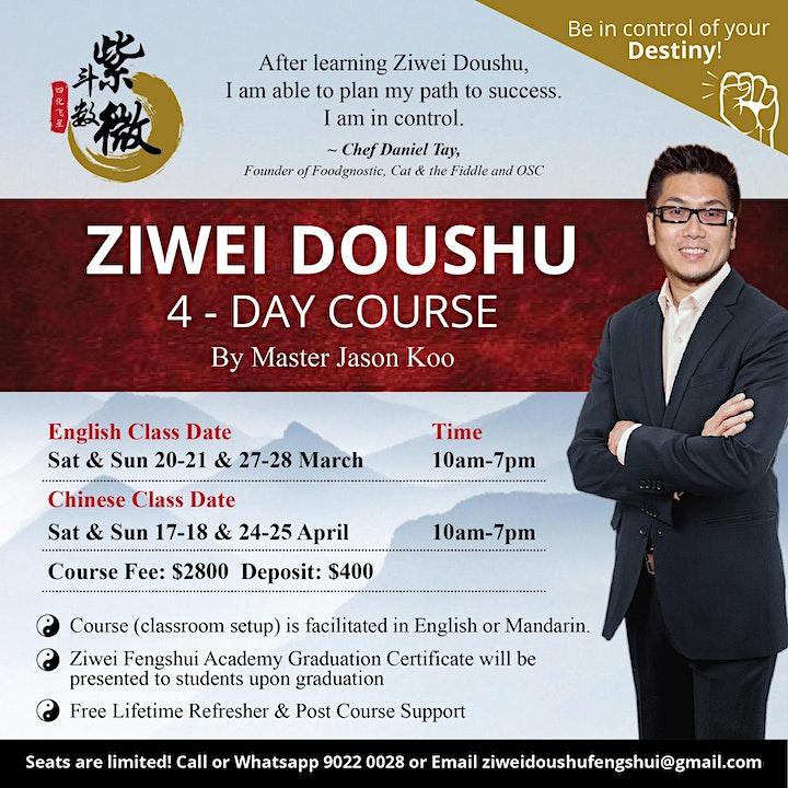 Ziwei Doushu Elementary Course 4 Day  紫微斗数全课班 image