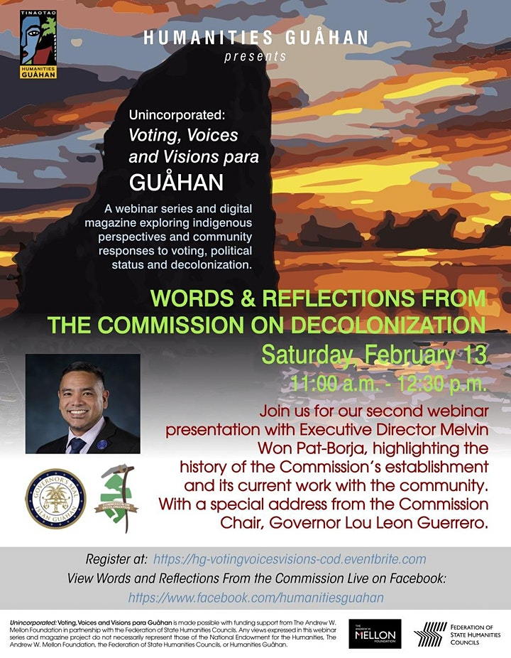 Words & Reflections from the Guåhan Commission on Decolonization image