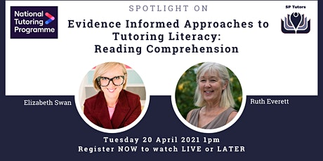 SP Tutors - Spotlight on Reading Comprehension tickets