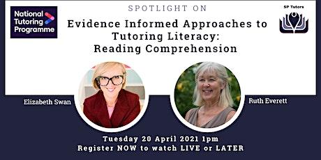 SP Tutors - Spotlight on Reading Comprehension entradas