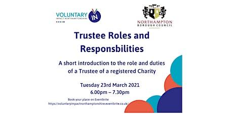 Trustee Roles and Responsbilities tickets