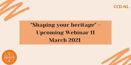 """""""Shaping your heritage - constructing your design practice"""" workshop Tickets"""