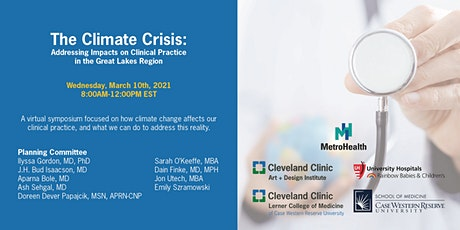 The Climate Crisis: Addressing Impacts on Clinical Practice- Great Lakes tickets