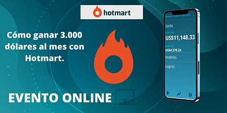 Hotmart: emprendimiento digital (Evento online) tickets