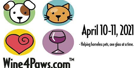 Wine 4 Paws Weekend tickets