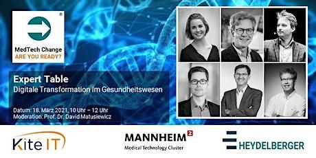 """MedTech Change - """"Digitale Transformation im Gesundheitswesen"""" Tickets"""
