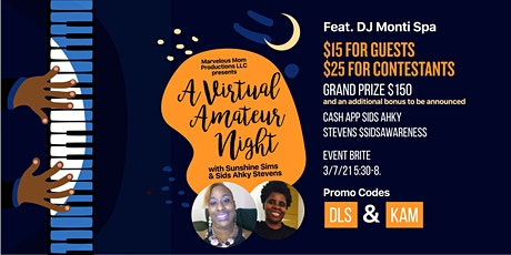 Marvelous Mom Productions LLC Presents A Virtual Amateur Night tickets