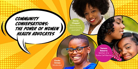 Community Conversations: The Power of Women Health Advocates tickets