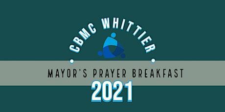 Whittier Mayor's Prayer Breakfast tickets