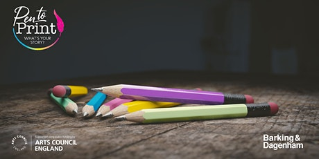 Pen to Print: Writing Together - Fiction Workshop tickets