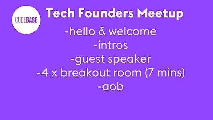 Tech Founders Meetup image