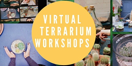 Virtual Online Terrarium Making Workshop - Materials will be posted (UK) tickets