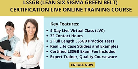 LSSGB Certification LVC Training in Albany, NY tickets