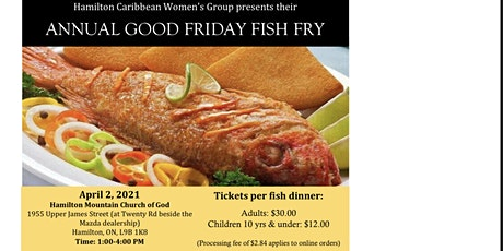 HamCar Fish Fry tickets