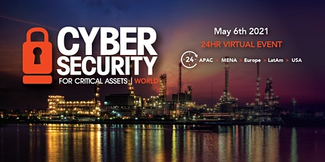 CS4CA World | 24Hr Global Cyber Security Summit | Online | May 6th 2021 tickets