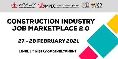 Construction Industry Job Marketplace 2.0 tickets