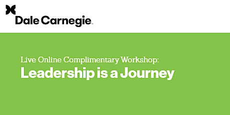 Live Online Complimentary Workshop: Leadership is a Journey tickets