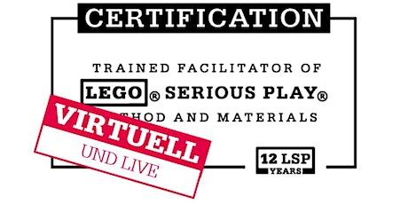 Zertifizierung für LEGO® SERIOUS PLAY® mit Mathias Haas/DEUTSCH Tickets