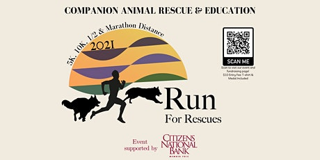 Virtual Run for Rescues tickets