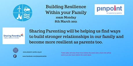 Building Resilience within your family tickets