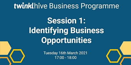 Introduction to Entrepreneurship :  Identifying  Business Opportunities tickets