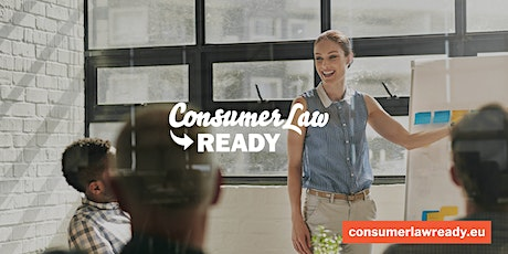 "Training Providers & Legal Experts add ""Consumer Law Ready to Your Offering tickets"