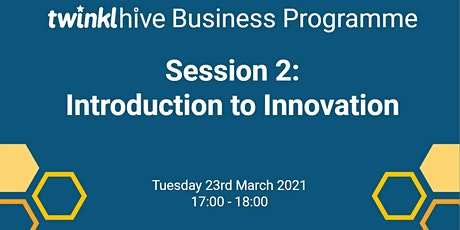Introduction to Entrepreneurship : Innovation tickets