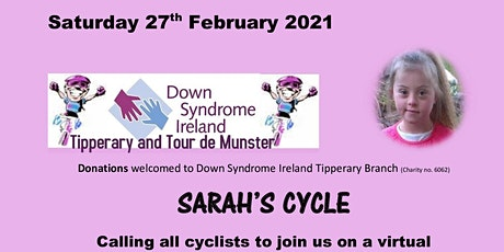 Sarah's Cycle 2021 tickets