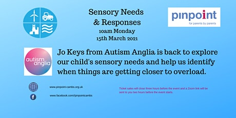 OA Workshop - Sensory Needs & Responses with Autism Anglia tickets