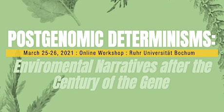 Postgenomic Determinisms Workshop tickets
