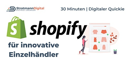 Jetzt online verkaufen mit Shopify - dein Start in den Online Handel Tickets