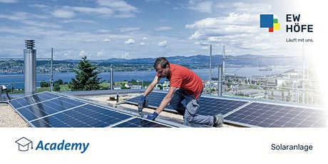 Entscheidungsgrundlagen für eine Solarenergieanlage tickets
