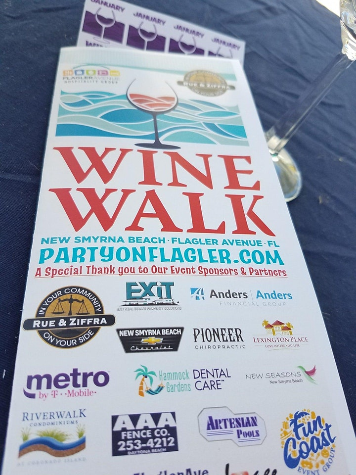 Flagler Avenue Wine Walk - March 2021 image