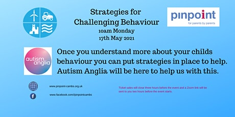 Strategies for Challenging Behaviour tickets
