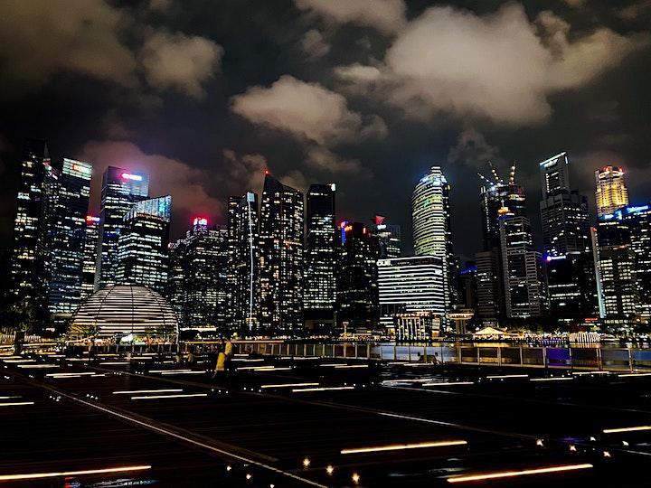 Фееричный Ночной Сингапур image