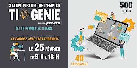 Salon virtuel de l'emploi - TI & Génie billets