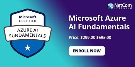 Microsoft Azure AI Fundamentals 1-Day Training in New York at $299 tickets